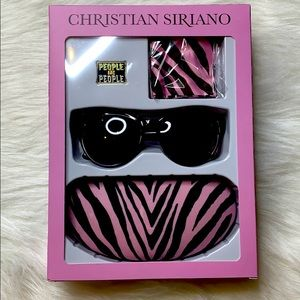 NWT Christian Siriano Niki Polarized Sunglass Kit